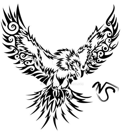 tribal phoenix tattoos designs tribal by sakashima on deviantart