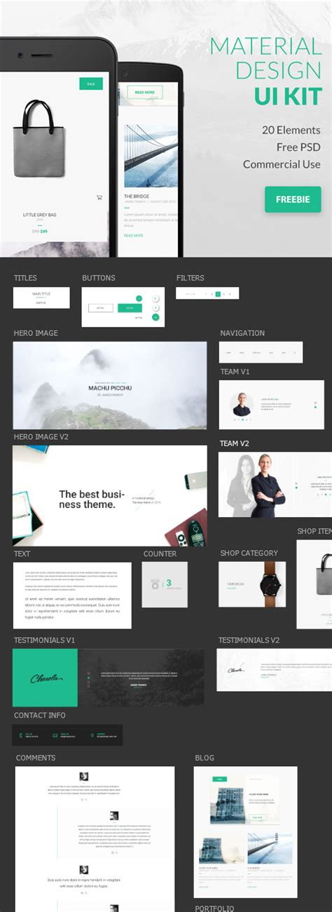 google design ui kit free mobile ui kits psd design graphic design junction