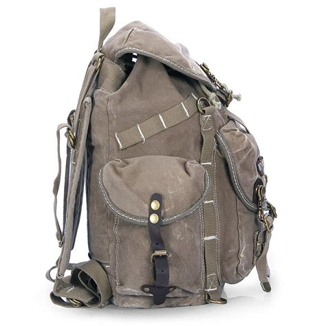 Rugged Backpack by Best Cool Canvas Backpack Weekend Daypack 183 Vintage