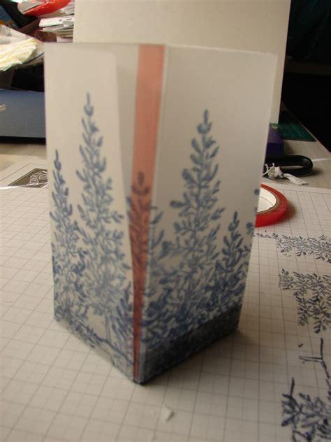 Vellum Paper Craft Ideas - vellum luminaries tutorial ink and tutorials