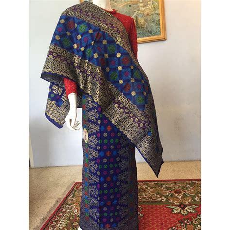 Kain Motif Somgket Hrga Seri kain suji bunga cina motif songket palembang elevenia