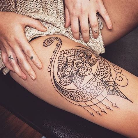 inner thigh tattoo thigh ideas chhory