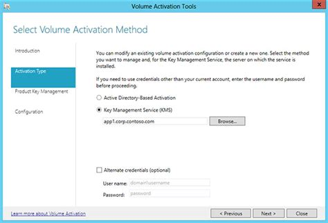install windows 10 key on kms server activate using key management service windows 10