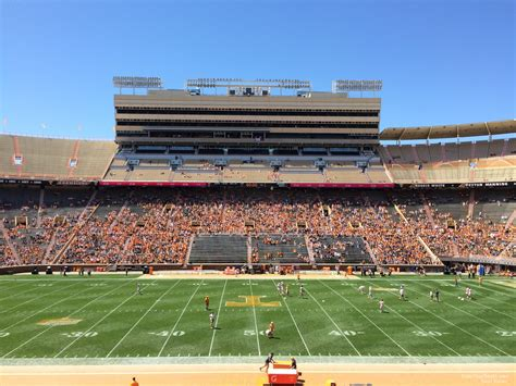 neyland stadium visitors section neyland stadium section d rateyourseats com
