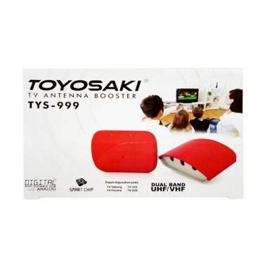 Antena Tv Outdoor Toyosaki Aio 200 jual booster tv antena terbaru kualitas terbaik