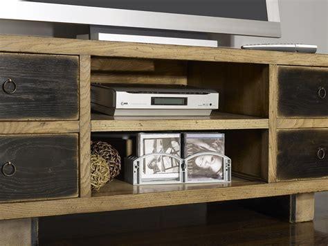 meuble tv vintage 4 tiroirs en ch 234 ne massif de style