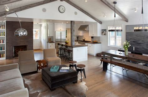 kitchen and family room ideas modern kitchen family room ideas 25 homely elements to