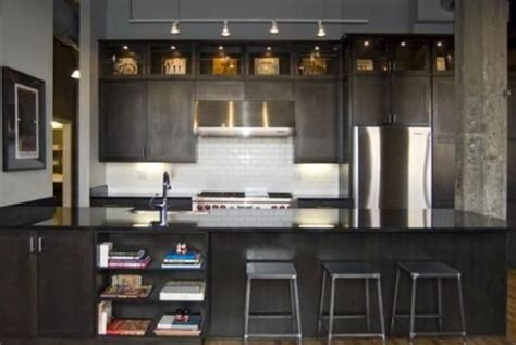 above kitchen cabinet storage black kitchen above cabinet storage loft design pinterest