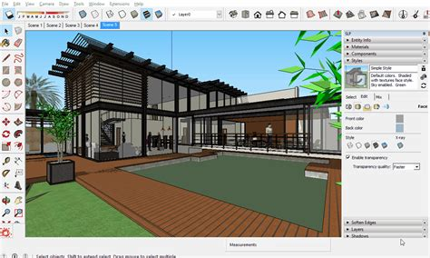 google sketchup twilight render tutorial v2 overlay rendering with sketchup view image overlay