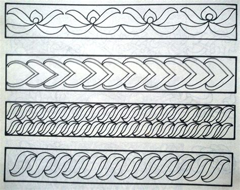gambar batik yang mudah digambar di kertas batik indonesia batik sarunai sumatera
