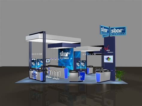 Create Floor Plans Online 3d Exhibits Booth Renderings Blaine Event Services