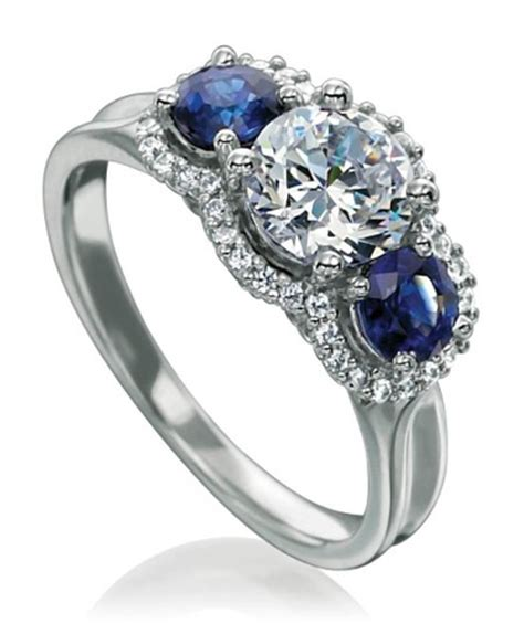 pictures on sapphire engagement rings meaning beautiful