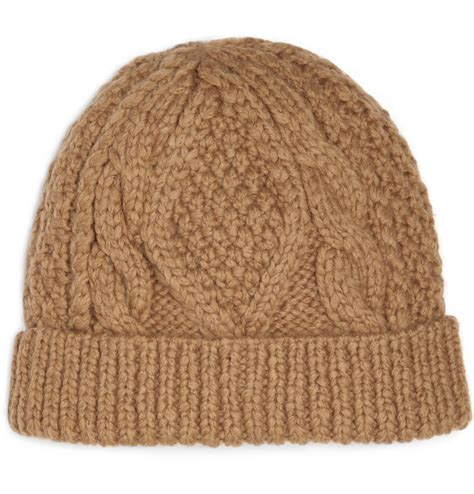 beanie hat knit marc by marc cable knit beanie hat s accessories