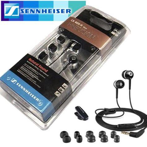 Earphone Sennheiser Cx 400 headphones sennheiser cx 400 ii precision noise isolating earphones black brand new sealed