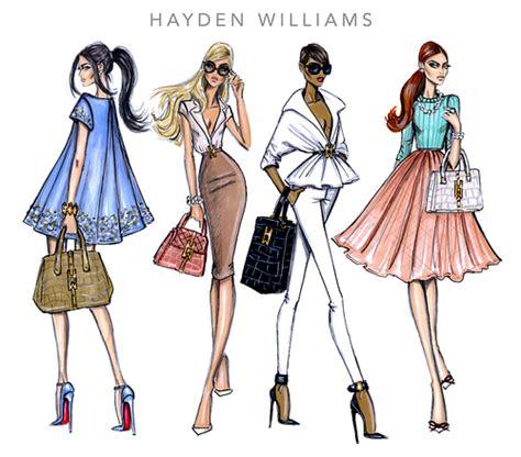 Le Fashionistacom Designer Weekly Pink by Ilustradores De Figurines A Pura Creaci 243 N