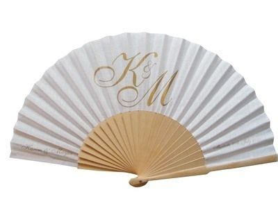 personalized folding fans for weddings 17 best images about paper fan on paper