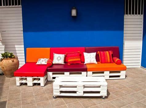 sitzecke aus paletten selber bauen nowaday garden