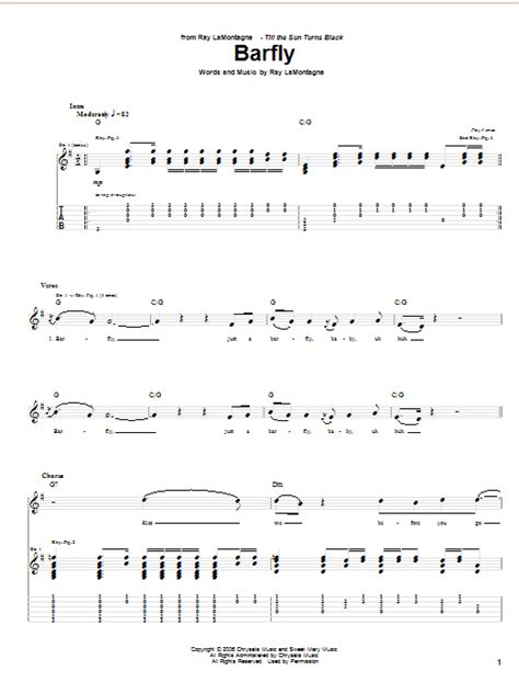 barfly song barfly sheet direct