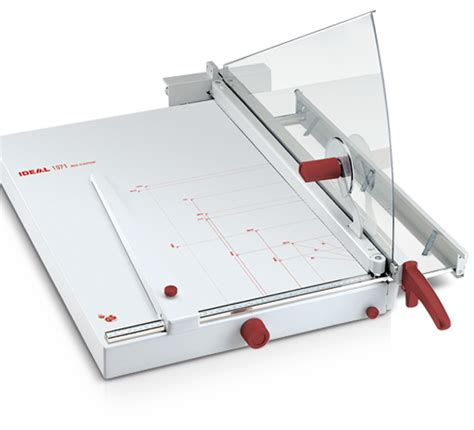 tagliacarte da tavolo taglierina ideal 1071 lr sistemi srl ufficio dopo