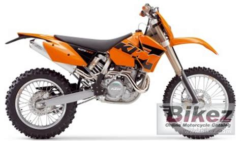 2005 Ktm 525 Exc Specs 2005 Ktm 525 Exc Racing Specifications And Pictures