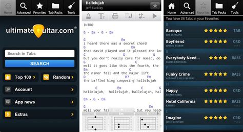 Best Android apps for guitarists and guitar players ... Guitar Tabs Ultimate