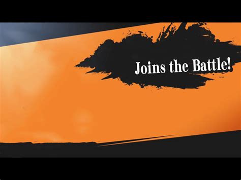 Joins The Battle Smash Meme Blank Template Imgflip Smash Bros New Character Template
