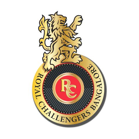 royal challengers logo ipl team squad logo png transparent images png all