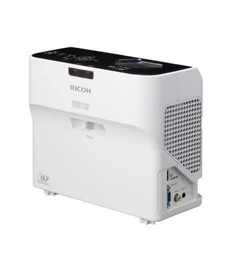 Projector Ricoh ricoh reveals breakthrough in ultra throw projection telepresence options