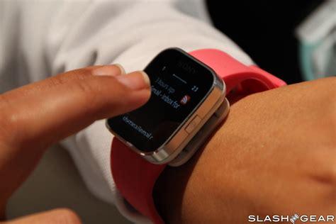 Smartwatch Xperia sony xperia smartwatch on slashgear