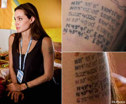angelina jolie new tattoo snappy confirms new is a