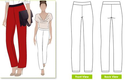 pattern review style arc elle pant rhonda s creative life thrifty thursday free pant pattern