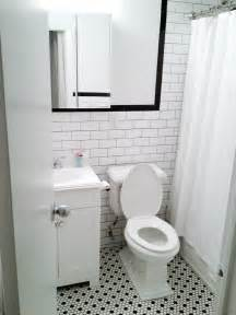 black and white tile bathroom floor white subway wall tiles with black grout black bullnose