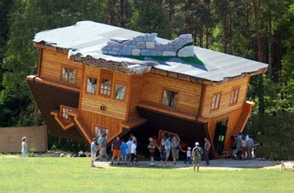 buy a house in poland upside down house poland