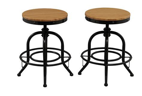 20 Inch Counter Stools by Solid Industrial 18 Quot 20 Quot 24 Quot Or 26 Quot Counter Height Bar