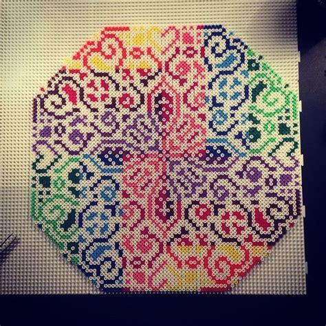 perler colors colorful hama perler bead design by aslaugsvava original