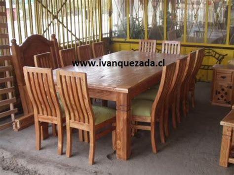 cobertizos rústicos muebles de madera para comedor
