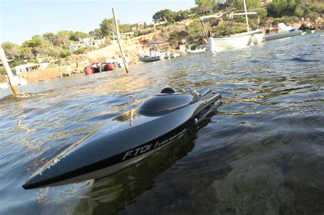Ft011 28 Esc V2 Rc Boat Feilun Ft011 feilun ft011 brushless rc speed boat water racing unboxing