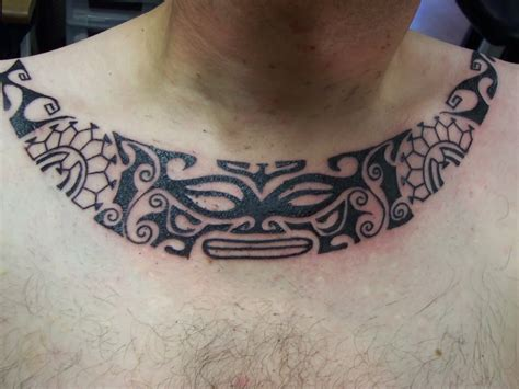 tribal neck tattoos for men tribal tattoos and designs page 78