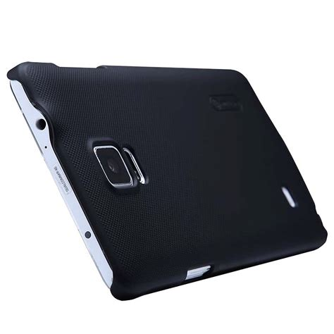 Nillkin Frosted Samsung Galaxy Note 4 Black samsung galaxy note 4 nillkin frosted shield deksel svart