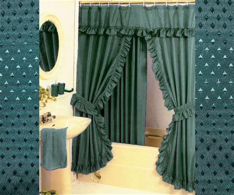 double swag fabric shower curtains diamond pattern fabric double swag shower curtain set
