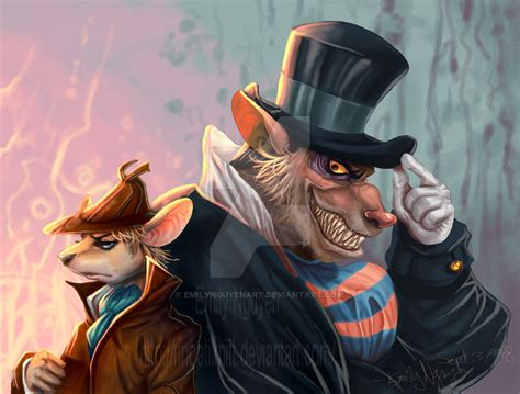 gmd basil and ratigan by emilynguyenart on deviantart