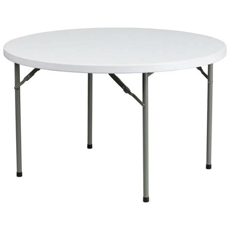 48 Inch Folding Table 48 Inch Granite Folding Table In White Ycz 122r Gg