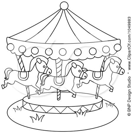 merry go template merry go coloring pages coloring pages