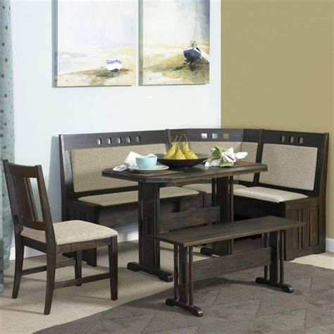 7 adorable and affordable dining room booth set
