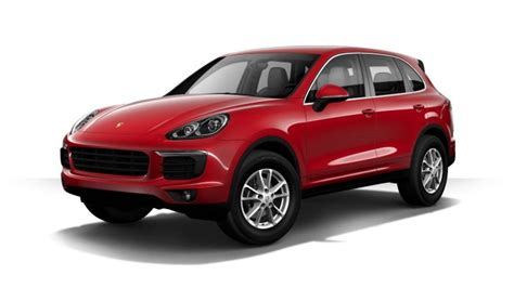 Porsche Cayenne Rot by Which Colors Does The 2017 Porsche Cayenne Come In