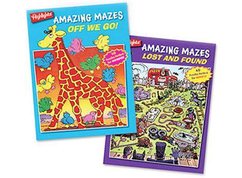 amazing mazes puzzle book 2 maze books for adults selena highlights amazing mazes 2 book set