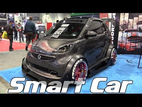 slammed smart car slammed and modded smart car this is madness youtube