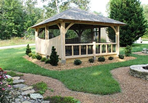 Landscape Timbers Nashville Pavilion On The Golf Course Traditional Landscape