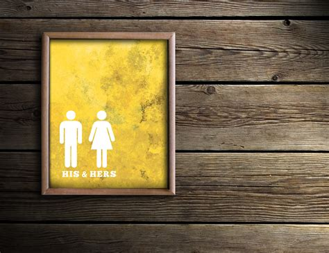 artistic bathrooms bathroom wall art bath prints yellow bathroom art his