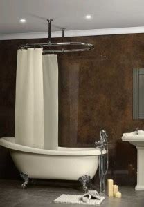 shower curtain fixings oval shower curtain rail with 2 wall fixings in high